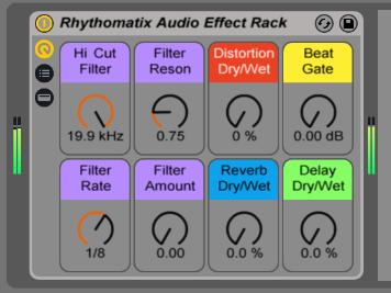 RhythomatixClipEffectRack