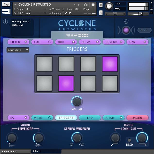 CYCLONE RETWISTED