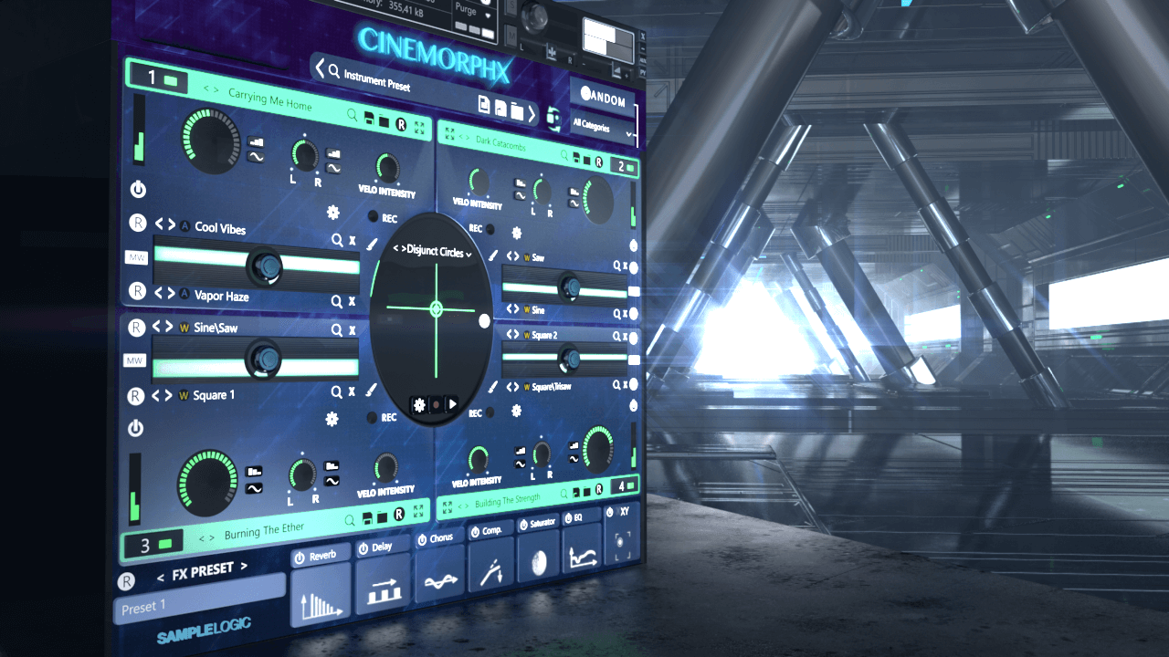 Sample Logic - CinemorphX KONTAKT